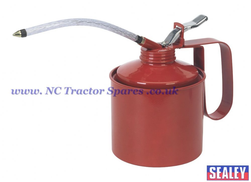 Metal Oil Can Flexible Spout 1000ml